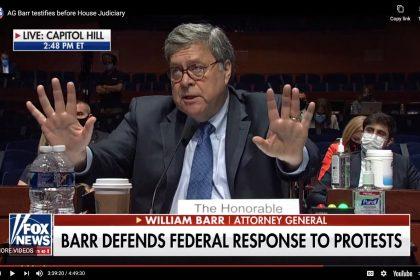 Attorney Bill Barr Testifies