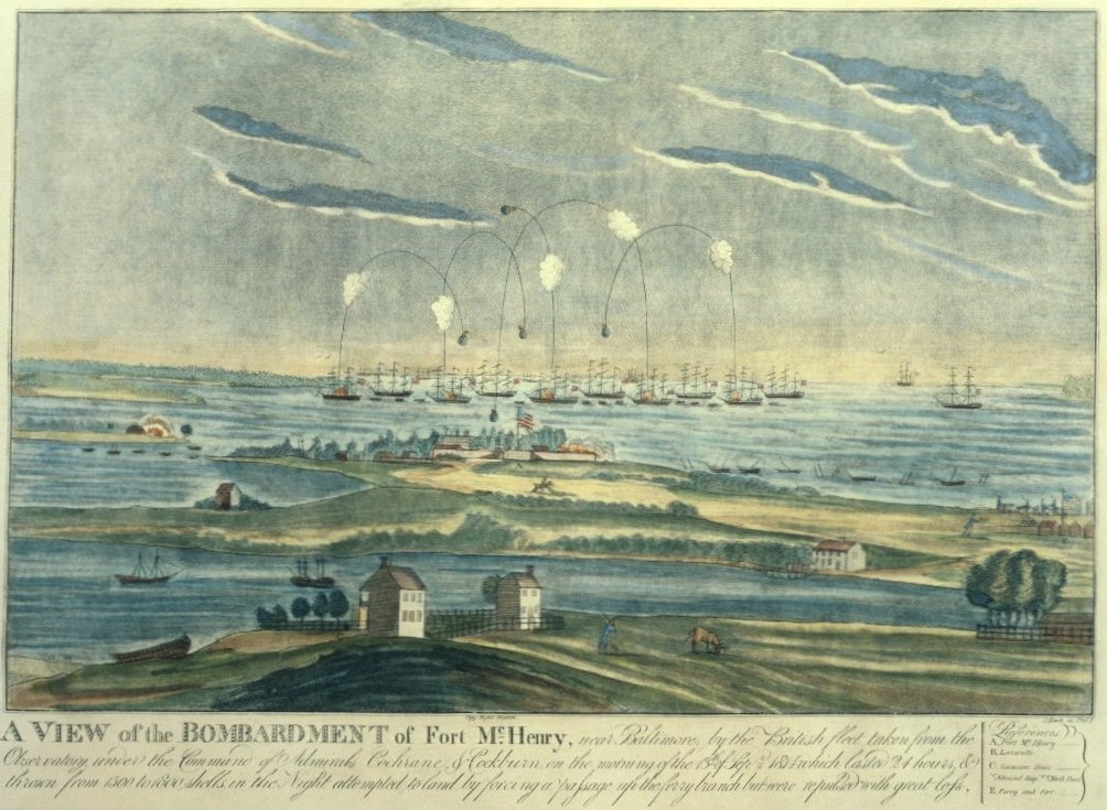 The Bombardment of Fort McHenry 1814