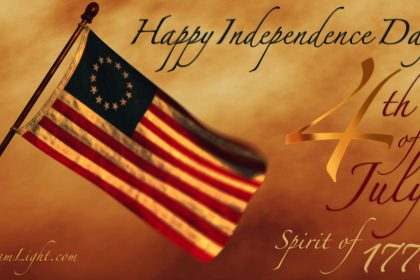 Happy Independence Day America! Spirit of 1776!