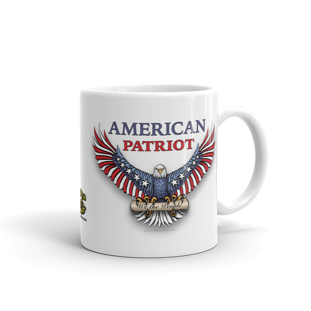 American Patriot Eagle Mug