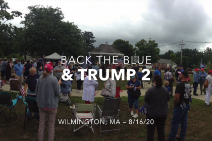 Citizens Push Back Against Radical Leftist Agenda withBack the Blue & Trump 2 Rallies