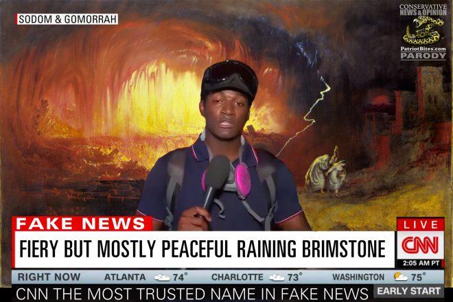 Fiery But Mostly Peaceful Raining Brimstone