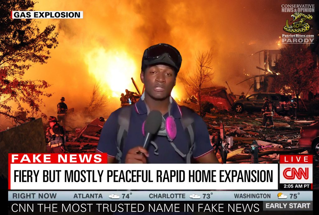 CNN Fiery But Mostly Peaceful Rapid Home Expansion