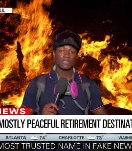 CNN Fiery But Mostly Peaceful Retirement Destination