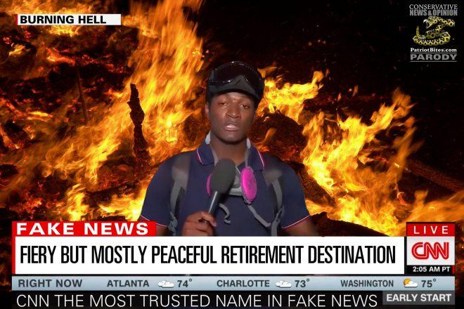 CNN Fiery But Mostly Peaceful Retirement Destination