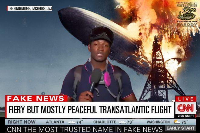Fiery But Mostly Peaceful Transatlantic Flight