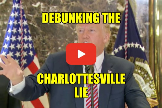 Debunking the Charolettesville Lie
