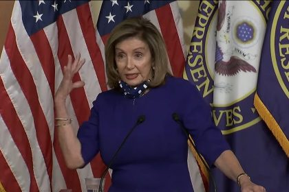 Pelosi Panics as Trump Gains in the Polls