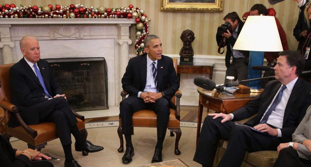 Obama Biden Comey Meeting