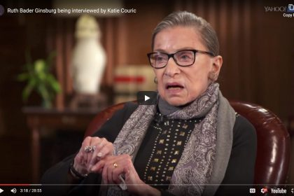 Ruth Bader Ginsburg Catie Couric Interview