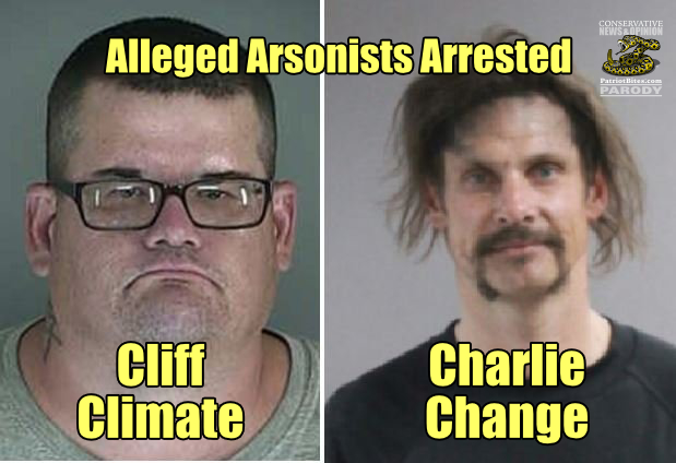 Arsonists Arrested