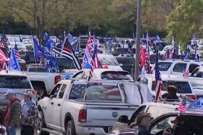 Trump Car Parade