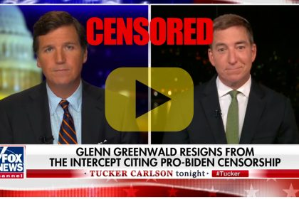 Tucker Carlson Interviews Glenn Greenwald