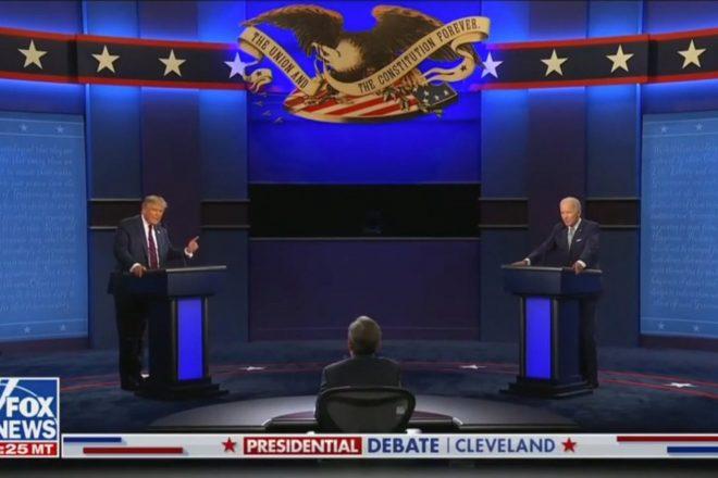 Fact Checking First Presidential Debate