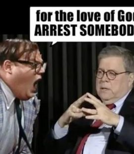 For the Love of God ARREST SOMEBODY!