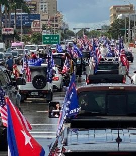 Miami 30,000+ Car Trump Caravan