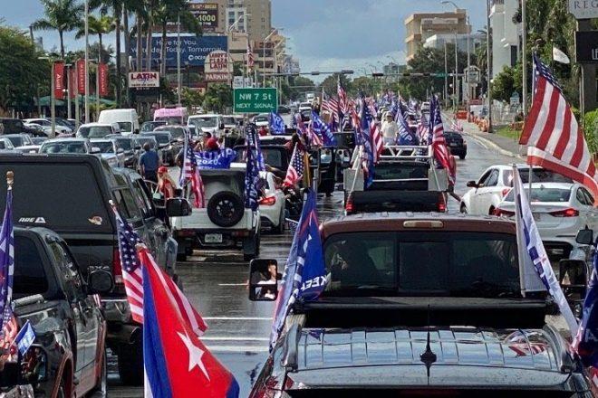 Miami 30,000+ Car Trump Caravan