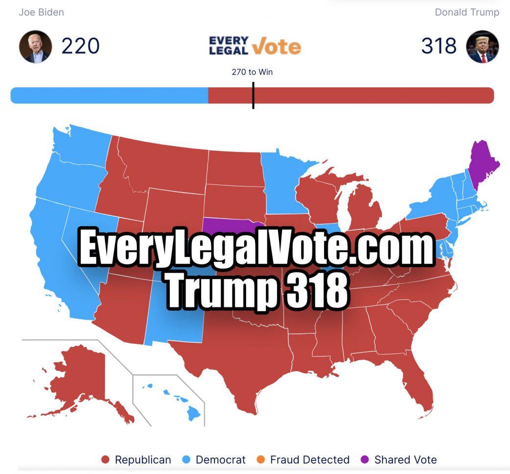 Every Legal Vote Trump 307