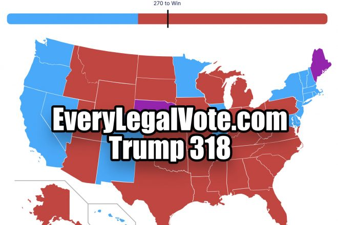 Every Legal Vote Trump 307
