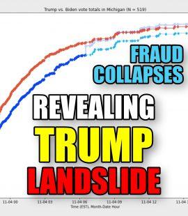 Fraud Collapses Revealing Trump Landslide
