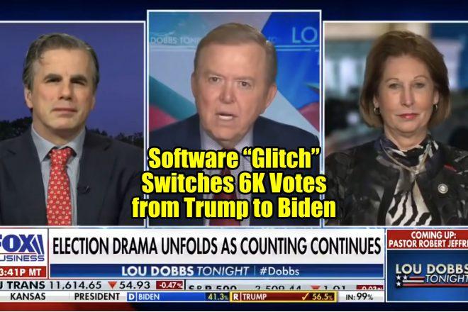 """Software """"Glitch"""" Switches 6K Votes from Trump to Biden"""
