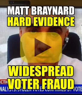 HARD EVIDENCE OF WIDESPREAD VOTER FRAUD