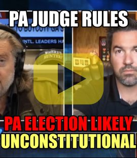 PA Judge Rules PA Election Likely Unconstitutional
