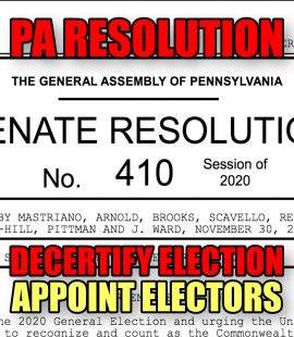 PA Joint Resolution
