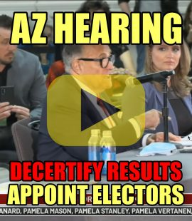 AZ Hearing Decertify Results Appoint Electors