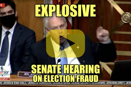 Explosive Senate Hearing on Election Fraud