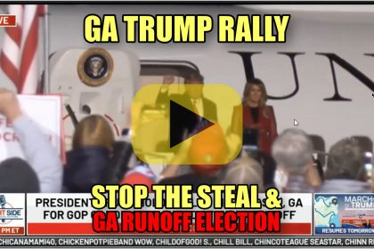 GA Trump Rally Stop the Steal & GA Runoff Election