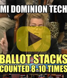 MI Dominion Tech Ballot Stacks Counted 8-10 Times