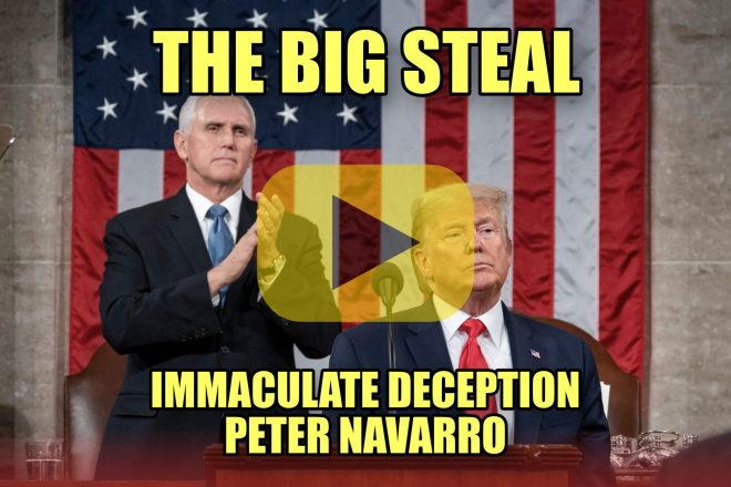 The Big Steal Immaculate Deception Peter Navarro