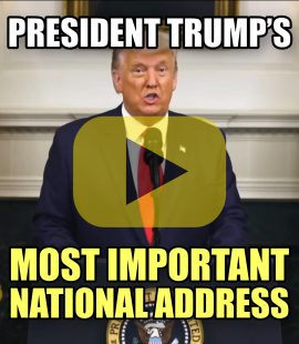 President Trump's Most Important Speech