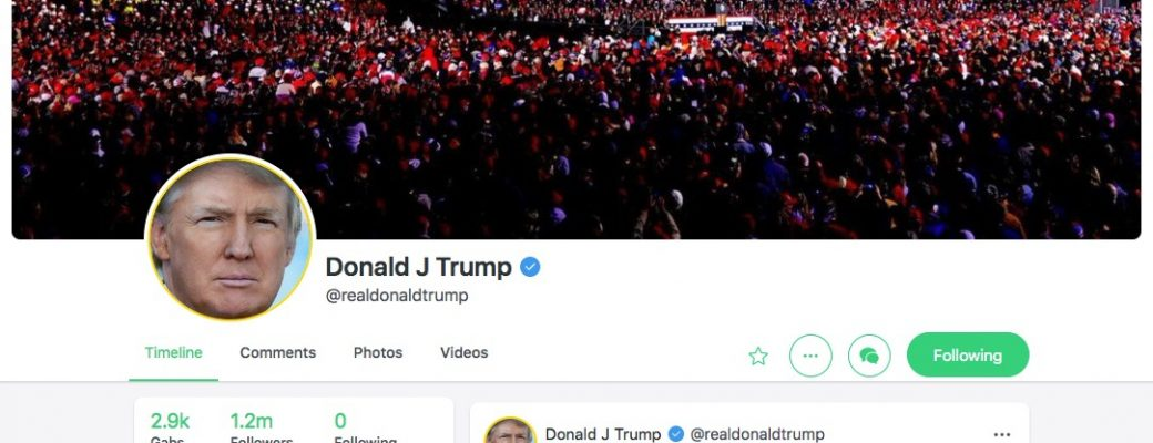 Digital Patriots Strike Back Resurrect President Trump's Entire Twitter Account on Gab