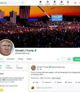 Digital Patriots Strike Back Resurrect President Trump's Entire Twitter Account on Gab