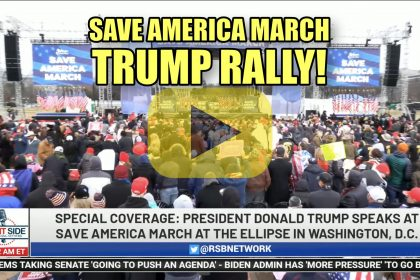 Massive Save America March Trump Rally