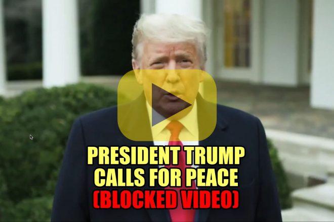 President Trump Calls for Peace