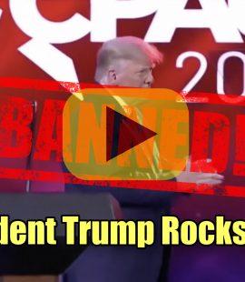 President Trump CPAC Speech 2021 Banned Video