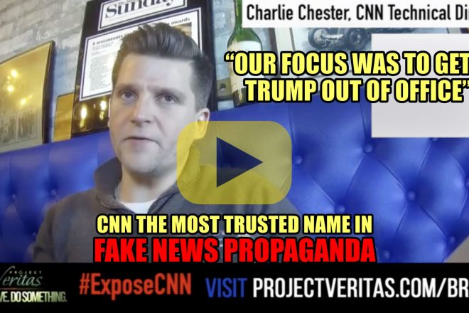 Our focus was to get Trump out of office. CNN The most trusted name in Fake News Propaganda