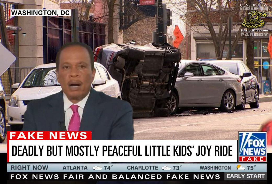 Fox News Deadly but Mostly Peaceful Joy Ride Fake News