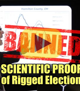 Scientific Proof of Rigged Election BANNED VIDEO!
