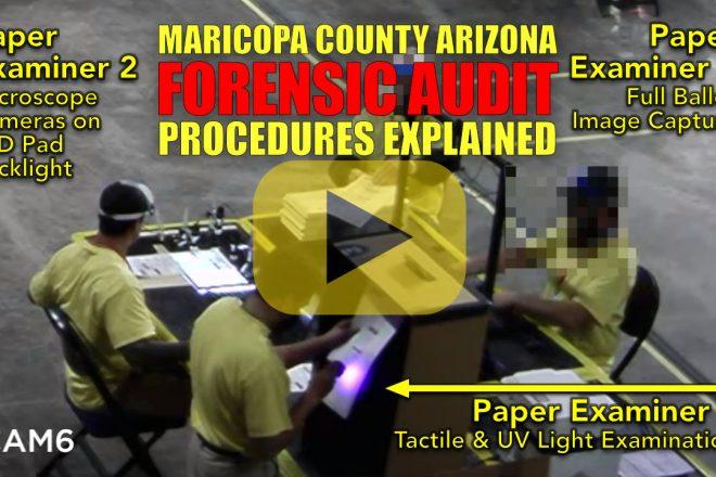 Maricopa County Arizona Forensic Audit Procedures Explained