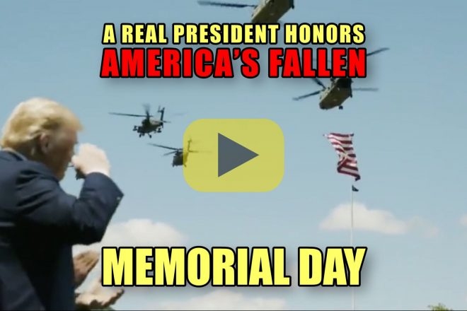 A Real President Honors America's Fallen Memorial Day