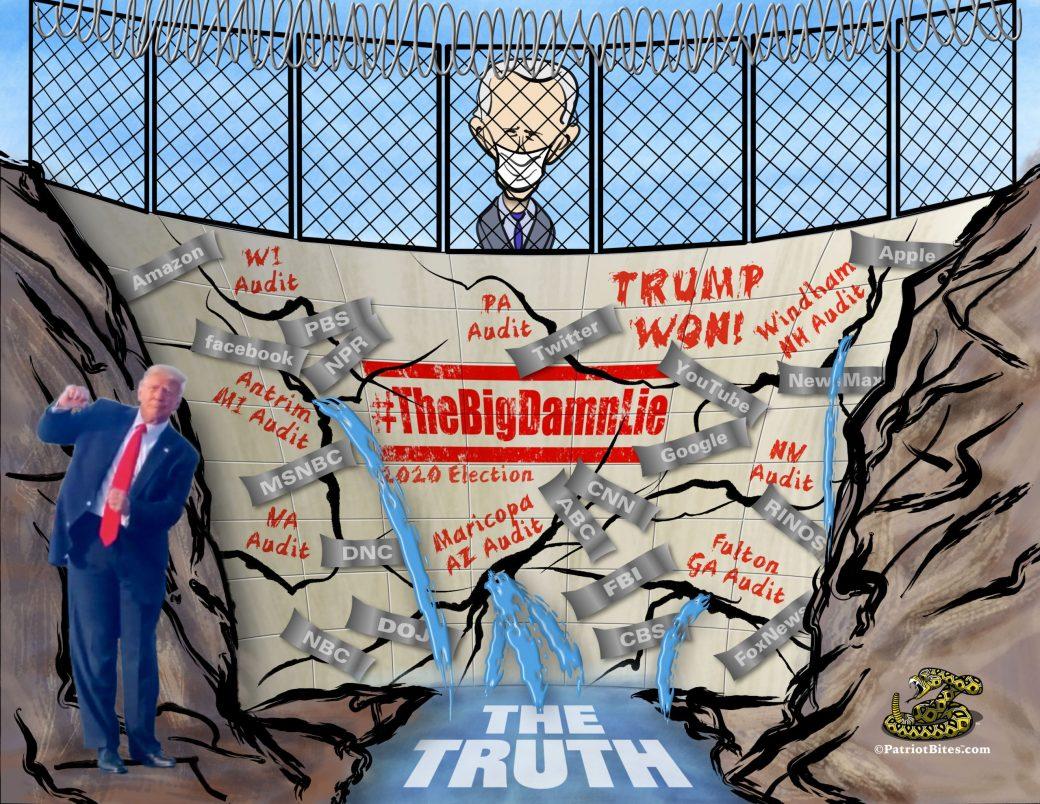 The Big Damn Lie 2020 Election #TrumpWON