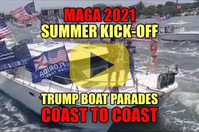 MAGA Summer Kick-Off Trump Boat Parades Coast to Coast