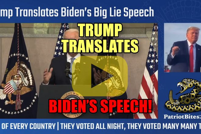 Trump Translates Biden's Speech