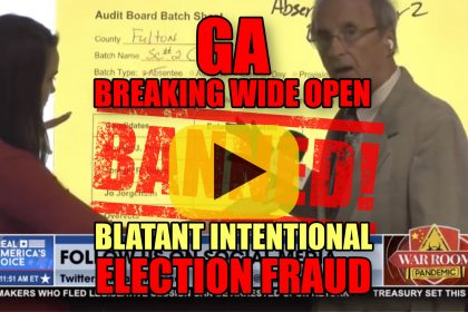 GA Breaking Wide Open Blatant Intentional Election Fraud