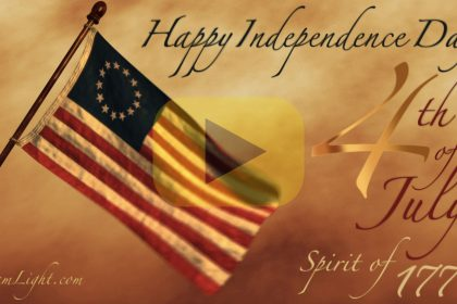 Happy Independence Day! 4th of July Spirit of 1776