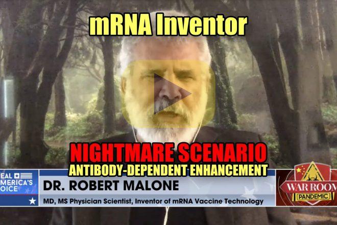 mRNA Inventor Nightmare Scenario Antibody-dependent Enhancement